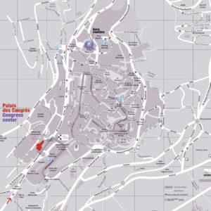 Plan de Grasse Centre-Ville
