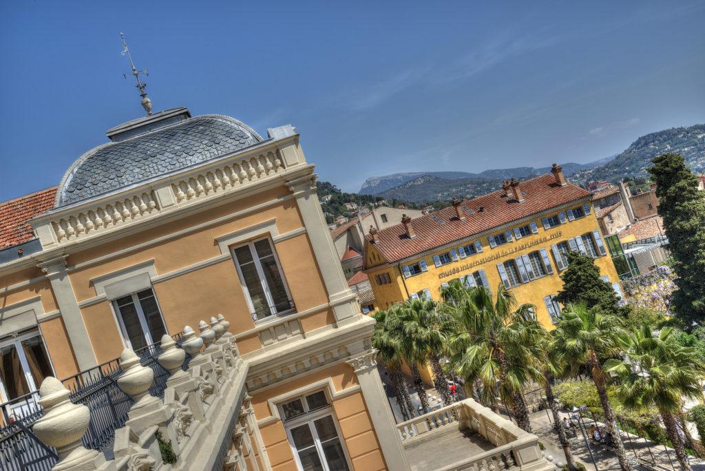 Photo depuis la terrasse du palais des congrès de Grasse